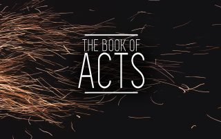 The Book of acts sermon photo