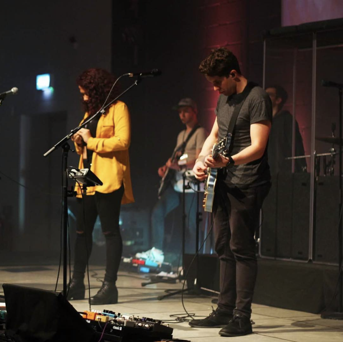 Create team leading worship