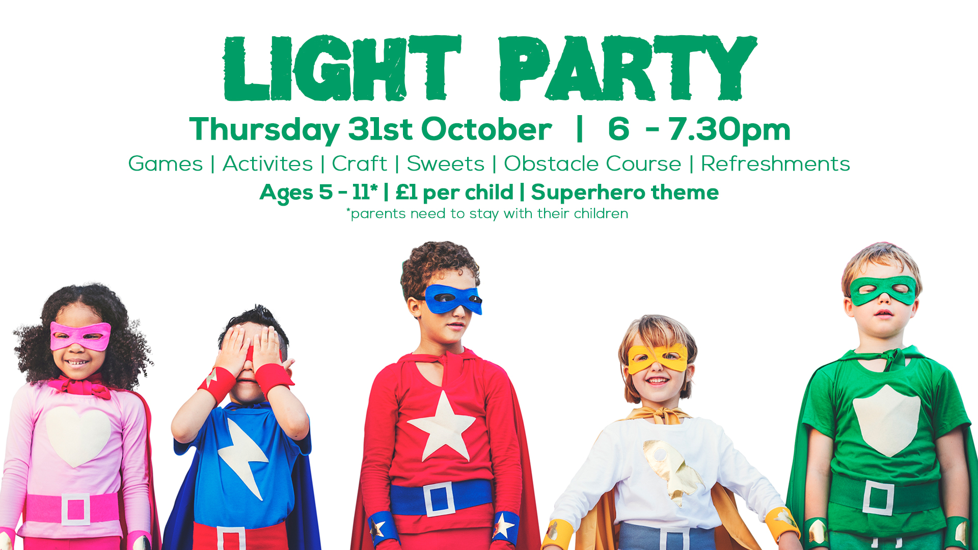 light party flyer